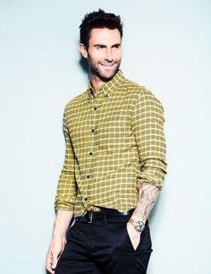 Adam Levine by Ramona Rosales for TIME Magazine (outtake) www.ramonarosales.com