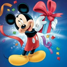 Tell him about the special show hes going to see which has ice skating and the real Mickey and Minnie Mouse in person Mickey Mouse Kunst, Mickey Mouse Stickers, Mickey Mouse Wallpaper, Minnie Mouse, Happy Birthday Mickey Mouse, Disney Birthday, Mickey Mouse And Friends, Disney Micky Maus, Mickey E Minie