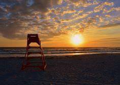 Sunrise.  Jacksonville Beach, Florida