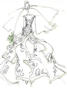 Angel Sanchez, Spring 2013 Collection. Click through to see what inspired the designer.