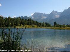 Die Seen in Nähe Mittenwalds