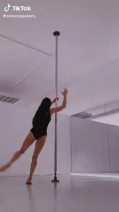 Pole Fitness Moves, Pole Dance Moves, Pole Dancing Fitness, Dance Tips, Yoga Videos, Dance Videos, Workout Videos, Pole Dance Wear, Pole Tricks