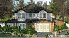 Sims 3 house  http://illawara.tumblr.com/post/63906801408/anon-request-01-cc-free-requested-by-an-anon