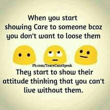 Yes.... Dedicated to me.... Care 👉attitude,  ....A