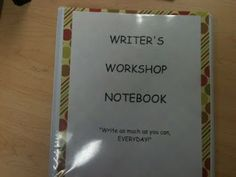 Obsessively Teaching Fourth Grade!: Poetry Journals and Writer's Workshop Notebooks!
