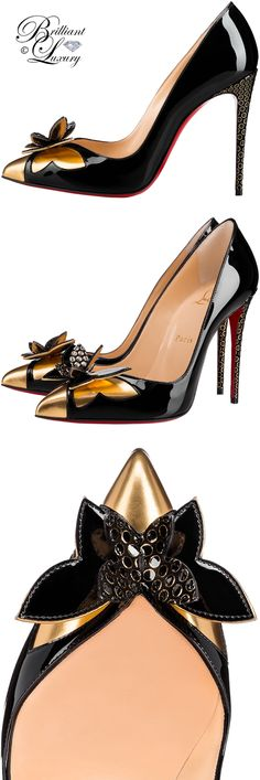 Brilliant Luxury ♦ Christian Louboutin Maripopump Specchio Ringed Dots Pumps