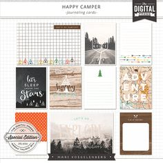 <p> You will be such a happy camper with this complete outdoors collection. This is the perfect way to document your camping or road trip.</p>