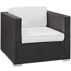 Gather Outdoor Patio Armchair #outdoorpatio