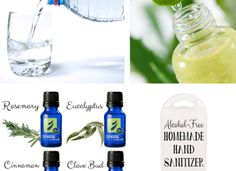 Natural Alcohol-Free Hand Sanitizer