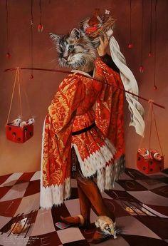 the Peddler ~*~ Sylvia Karle Marquet's animal society