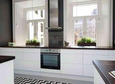 1000 images about cuisine on pinterest cuisine design - Cuisine ikea blanc mat ...