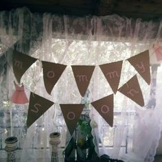 shower concept - Paired with Vintage Valance Curtains, Baby Shower, Concept, Handmade, Vintage, Home Decor, Babyshower, Hand Made, Decoration Home
