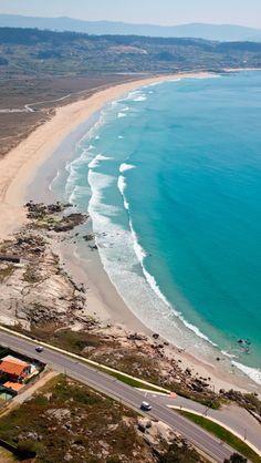 Playa de #LaLanzada #Pontevedra #TurismoGalicia