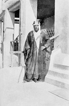 St John Philby--British explorer spy Muslim convert advisor to Ibn Saud and father of double agent Kim Philby--in Riyadh (c. Bernard Montgomery, Saint John, Gertrude Bell, British Muslims, Service Secret, Ottoman Turks, Explore Travel, British Colonial, San Juan