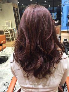 『アフロートルヴア』星☆晃介 ピンクバイオレットカラー How To Make Hair, Make Up, Love Hair, Brown Hair, Salons, Hair Makeup, Hair Color, Hair Beauty, Hairstyle