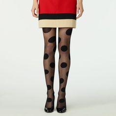 kate spade | gigantic swiss dot tights AA: the tights