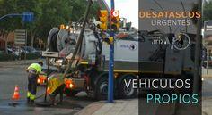 Camión de desatascos   Urgencias 24 h 688 925 900 - Grupo Ariza CC