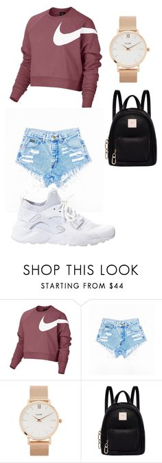 """Untitled #150"" by dayday-tolbert on Polyvore featuring NIKE, CLUSE and Fiorelli"