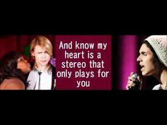 GLEE-Stereo hearts with lyrics