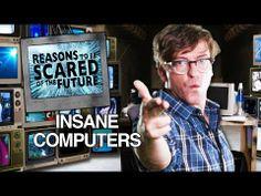 Чувак экспрессивно вещает о технологиях, которые несут угрозу и вынуждают зрителя бояться будущего (Reasons to Be Scared of the Future)