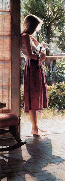 Steve Hanks - Senesa & The Cat - Small Print