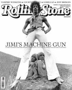 I primi 100 numeri di Rolling Stone. N°77 – Marzo 2010. In copertina #JimiHendrix #cover