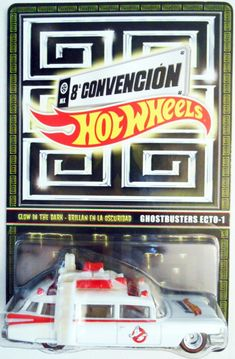 #transformer 2015 hot wheels mexico convention glow in the dark ghostbusters ecto-1