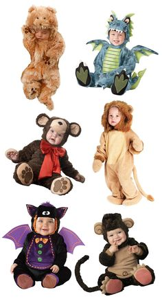 Absolutely Adorable Baby Animal Halloween Costumes