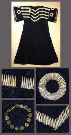Платье, Шайены или Сиу.  Black Dress, Cheyenne or Souix