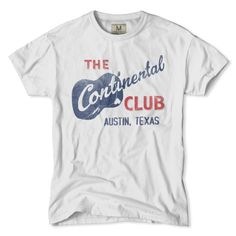 Continental Club Austin T-Shirt
