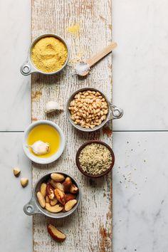 Vegan Parmesan with 5 ingredients #vegan #glutenfree #vegancheese #recipe #minimalistbaker