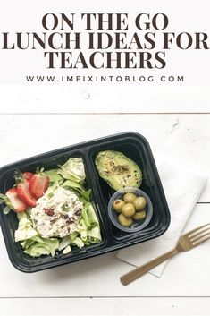 Top NC life and style blog, I'm Fixin To, features On The Go Lunch Ideas For Teachers by Kayte Fry. Click now for more details!