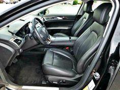 Interior Used 2013 Lincoln MKZ in Black. Napleton Autowerks Bourbonnais.