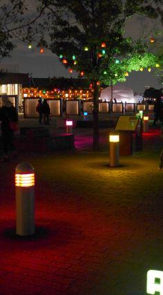 yokohama portside illumination