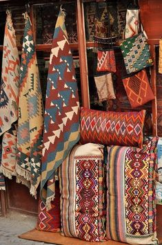 Native American Rugs. i like all of these.