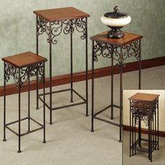 Carenza Nesting Pedestal Table Set,...    $129.99