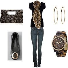 Omg....finally a way to wear leopard print cute and classy :)