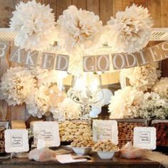 Candy buffet- vintage.