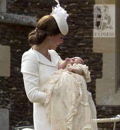Princess Charlotte's Christening.