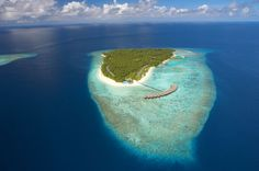 Filitheyo Island from above