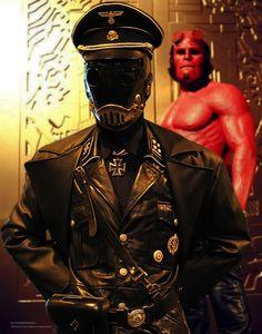 Midas is king and he holds me so tight Amazing Cosplay, Best Cosplay, Hellboy Kroenen, Actor Studio, Steampunk Costume, 3d Prints, Dark Horse, Dieselpunk, Dark Art