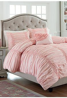MaryJane's Home Cotton Clouds Pink Bedding Collection #belk #home