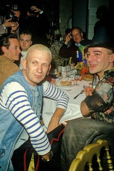 Gaultier and Galliano