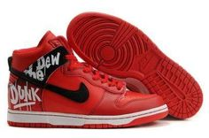 Nike Dunk High Do The Dew Red Label Art Event
