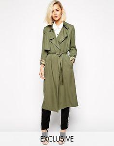 Goldie | Goldie Duster Coat at ASOS