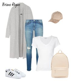 """Untitled #280"" by bri-regine ❤ liked on Polyvore featuring Joseph, Rebecca Minkoff, James Perse, PB 0110, River Island and adidas"