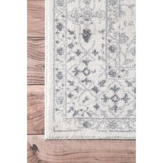 Maison Rouge Gibran Vintage Floral Ornament Ivory Rug - 8' x 10' - Ships To Canada - Overstock - 17681880