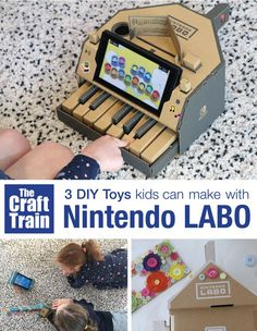 3 DIY Toys you can m
