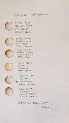 Image result for polychromos palette