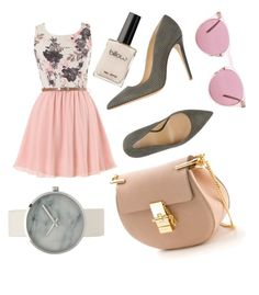 """""""Untitled #111"""" by supemrs on Polyvore featuring Armani Collezioni, Chloé and Oliver Peoples"""